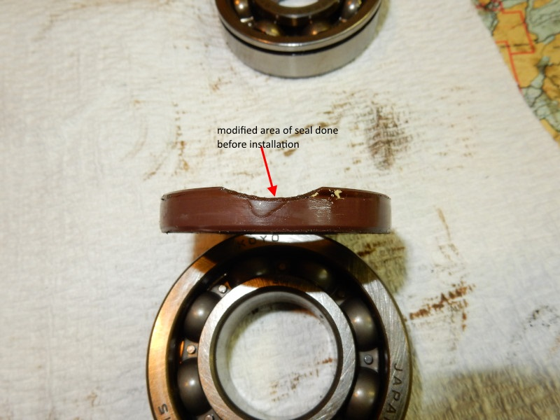 Bearing removal, replacement, and case assembly in 2 stroke paramotors
