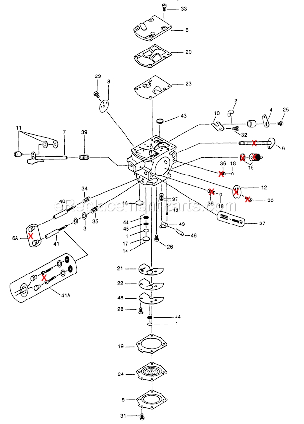 walbro fuel pump schematic